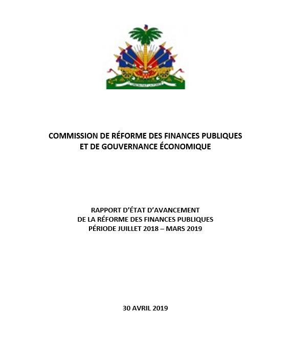 Etat d'avancement de la RFP